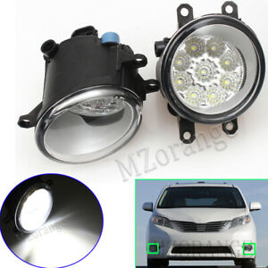 2X-LED-Front-Fog-Light-Lamps-For-Lexus-CT200h-ES-GS-RX-350-450H-200T-460-2010-19