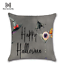 Halloween-Pumpkin-Cushion-Cover-Square-Pillow-Case-Thanksgiving-Day-Decor-U-pick miniature 12