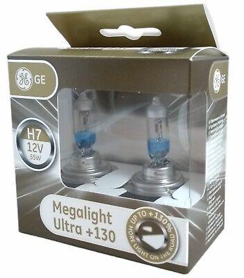 Set of 2 Bulbs-GE H7 58520SU 55W//12V Bulbs