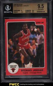 1985-86 Star Basketball Michael Jordan ROOKIE RC #117 BGS 9.5 GEM MINT