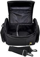 Compact Deluxe Camera Carrying Case Bag For Fujifilm Finepix X100 Sl300 Sl305