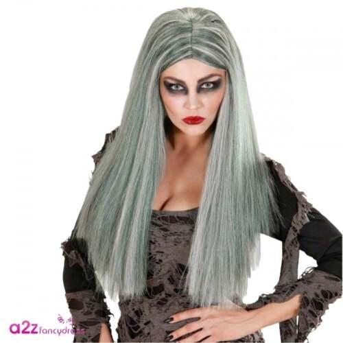 Womens Graveyard Bride Ghost Zombie Adult Halloween Ladies Fancy Dress Costume