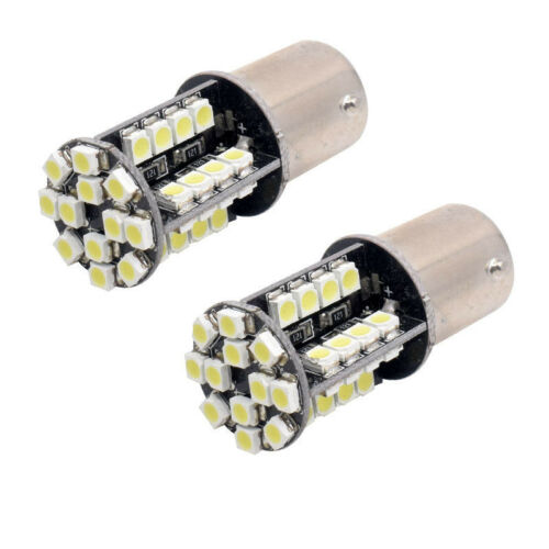 2X 44 SMD LED 21W BULB CANBUS ERROR FREE 581 BAU15S 1156 INDICATOR APECIALIZED
