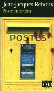 Livre-Poche-poste-mortem-Jean-Jacques-Reboux-2005-Folio-Gallimard-Book