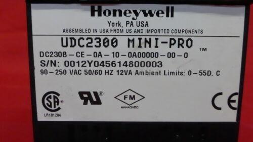 HONEYWELL DC230B-CE-0A-10-0A00000-00-0 UDC2300 MINI-PRO 2E0