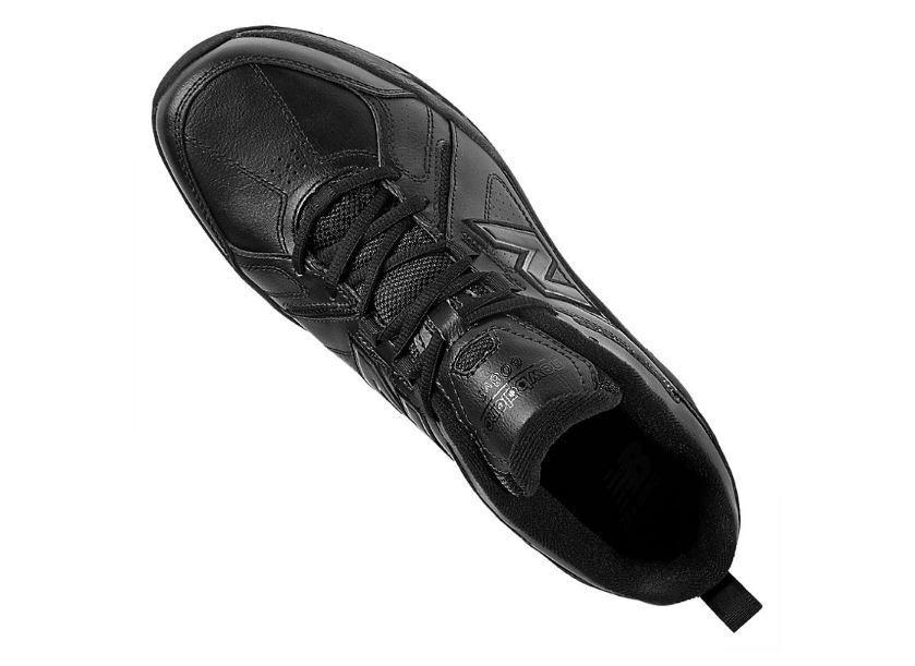Männer new balance mx608v3b (4e) walking schuh schwarz schwarz schwarz 834d18