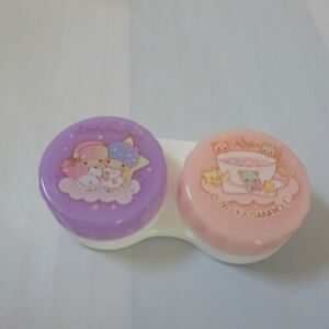 SANRIO-Little-Twin-Stars-KAWAII-Contact-Lens-Case-from-JAPAN-Purple-amp-Pink