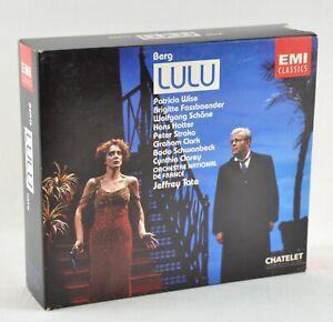 ALBAN BERG - LULU - WISE FASSBAENDER SCHÖNE ONF TATE - 3 CD BOX EMI  CLASSICS | eBay
