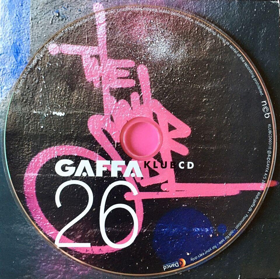 Diverse Kunstnere: GAFFA Klub cd#26, electronic