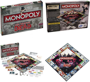 The Walking Dead Monopoly Board Game UK POST FREE