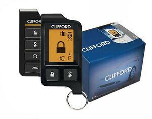 clifford matrix 5706x 2 way remote start car alarm keyless. Black Bedroom Furniture Sets. Home Design Ideas