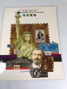 1985-United-States-Postal-Service-Mint-Set-of-Commemorative-Stamps-w-Bonus