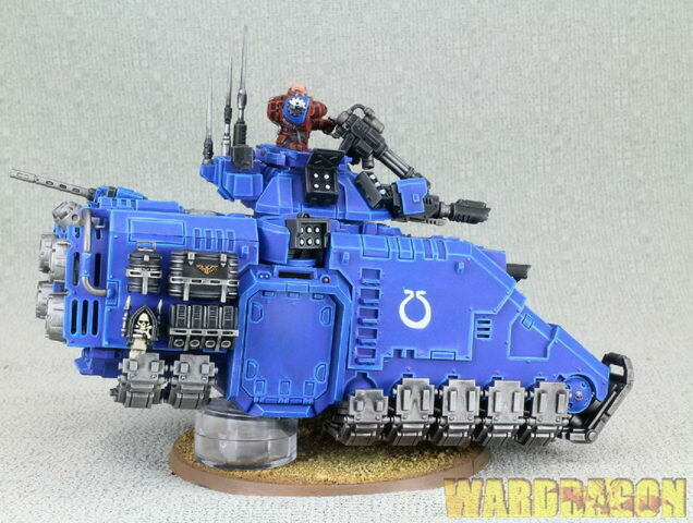 25mm Warhammer 40K WDS painted Space Marines Primaris Repulsor g43 g43 g43 d75e3a