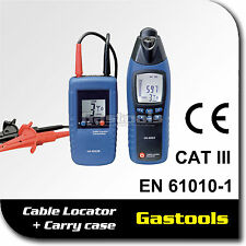 Cable Locator Wire finder Tester - Tracer Set Plus Carry Case