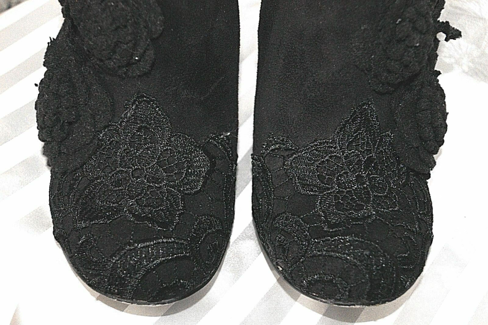 Muting by Irregular Choise Choise Irregular Tronchetti-boots 40 NERO FIORI + punta Asylum 027c2b