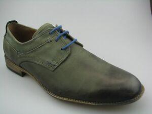 Fretz men 9416.0637-8 Herren Business Schuhe mint-grün/blau Leder