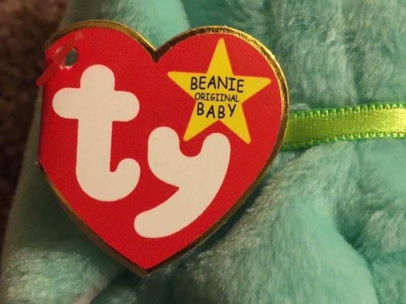 EXTREMELY RARE Ty Hippity Beanie Baby 1996 With Errors  MAKE OFFER