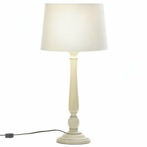 Image Is Loading Ceramic Ivory Table Lamp