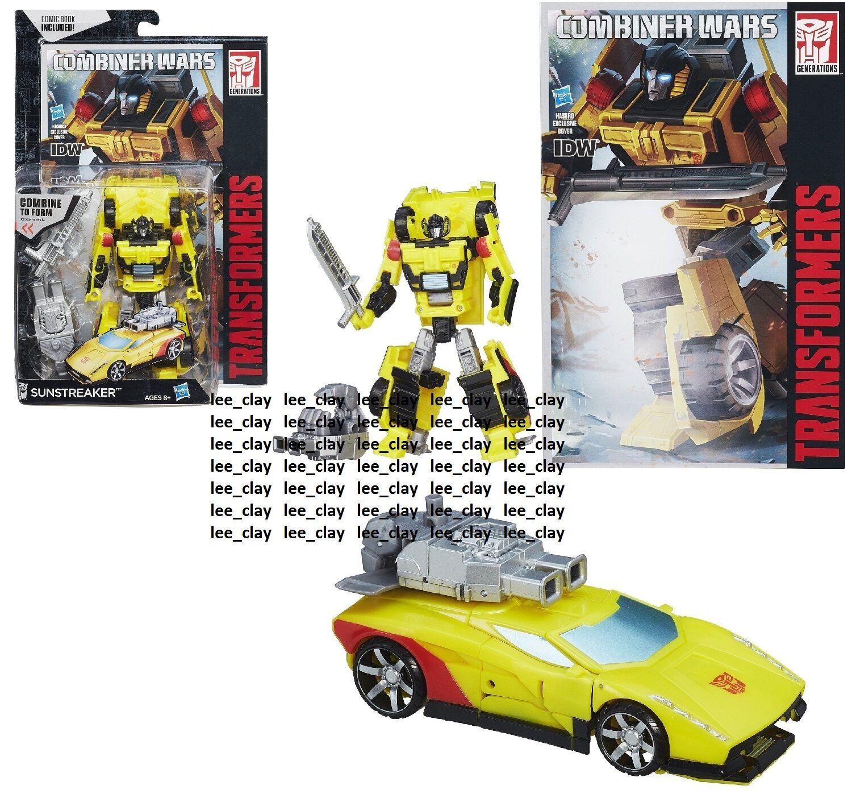 Transformers Generations Combiner Wars Deluxe Class SUNSTREAKER NEW  Lamborghini