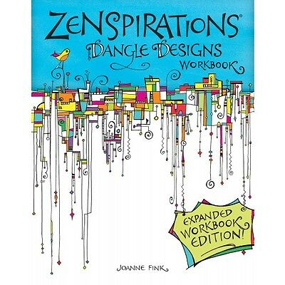 ZENSPIRATIONS DANGLE DESIGNS-Zentangle Line Drawing Altered Art-Paper Craft Book