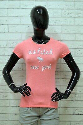 Maglia Abercrombie Donna Taglia Size Xs Maglietta Blusa Shirt Woman Manica Corta