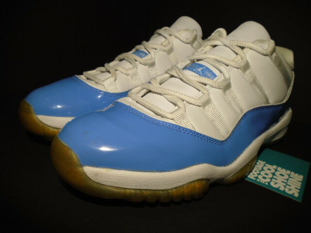 78f7e7cb2c3d ... 2001 Nike Air Jordan XI XI XI 11 Retro Low UNC WHITE COLUMBIA blueE  136053- ...