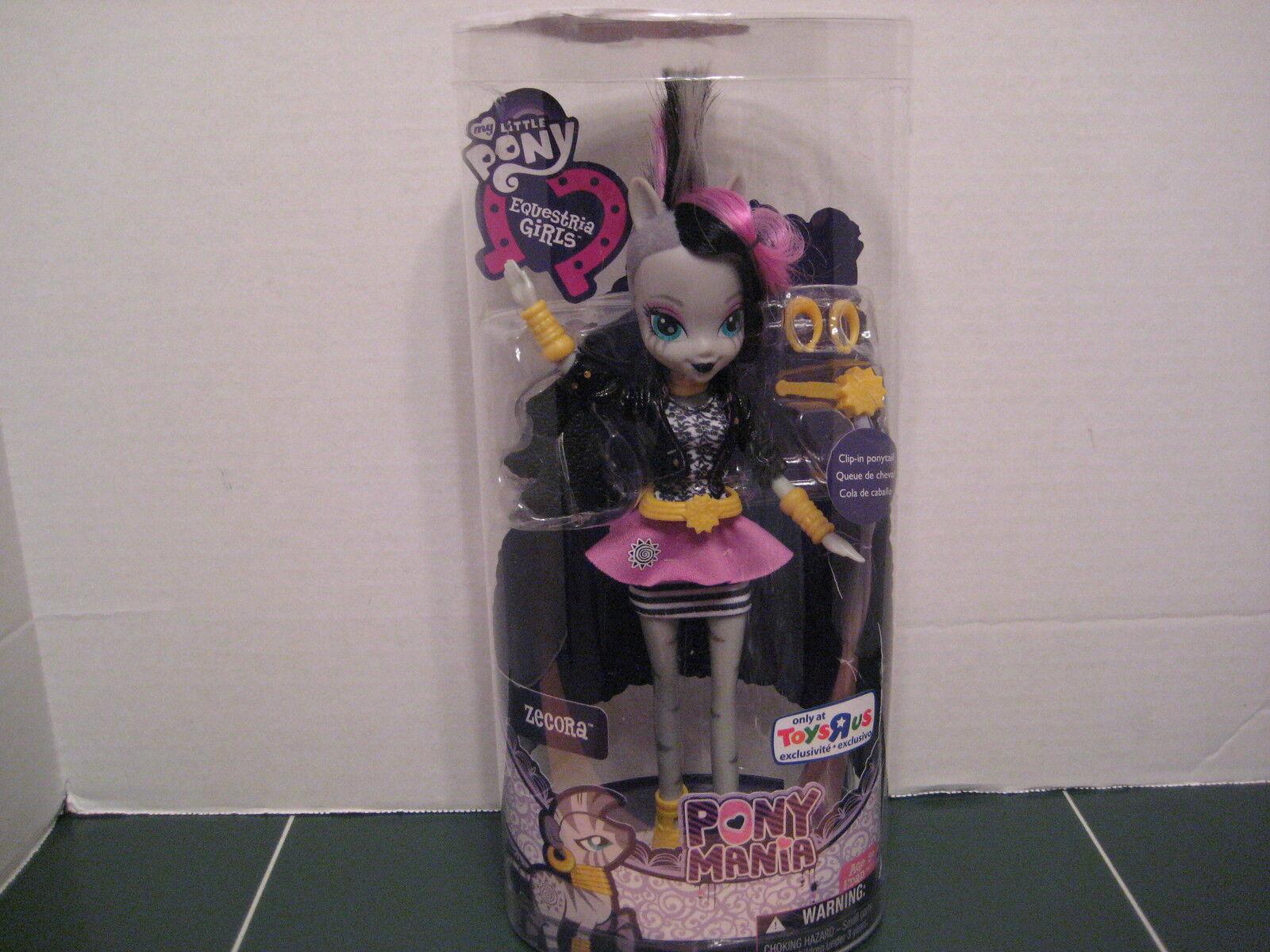 Min lilla Pony Zecora Doll Comic -Con SDCC 2014 Exklusiv Pony Mania