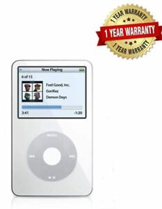 NEW-Apple-iPod-Classic-5-5th-Generation-White-80GB-WOLFSON-1-YEAR-WARRANTY