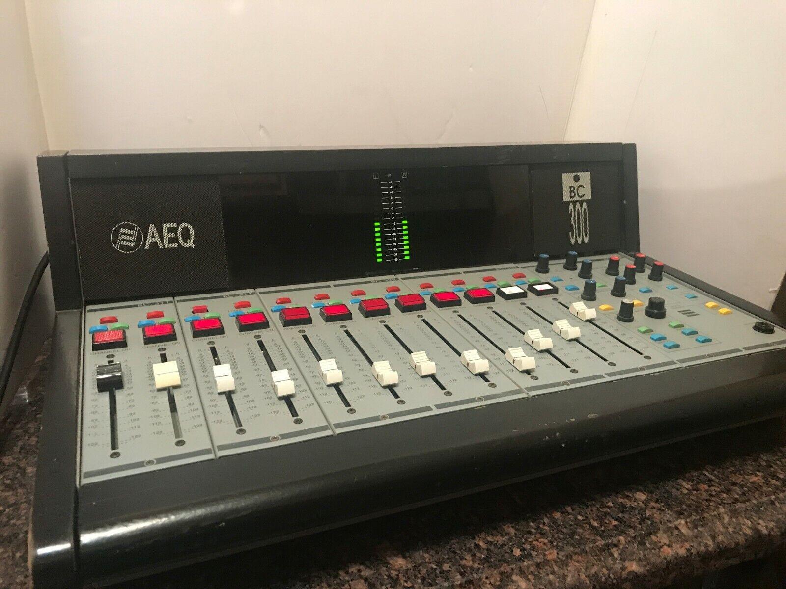 Garanzia di vestibilità al 100% Aeq BC 300 12 Channel Broadcast Studio Studio Studio Audio Console,  da non perdere!