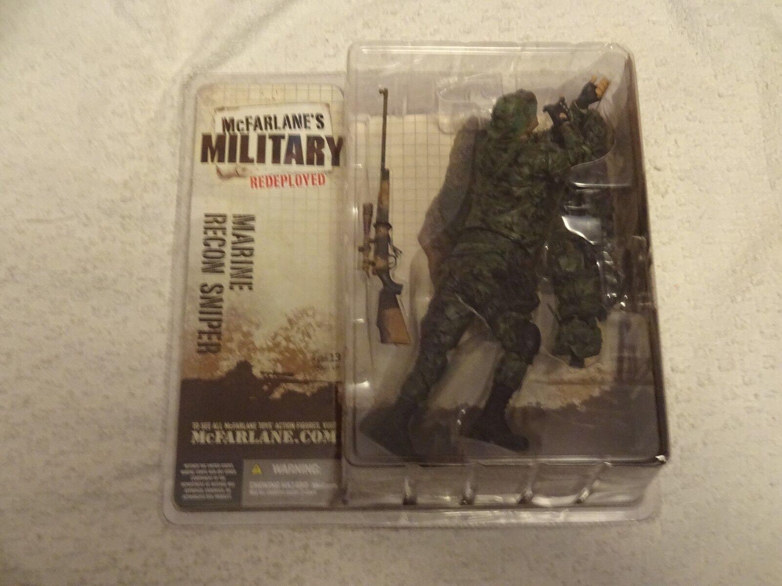 McFarlane's  Military Series 1 rossoeployed  Marine Corps Recon Sniper (Caucasian)  ti renderà soddisfatto