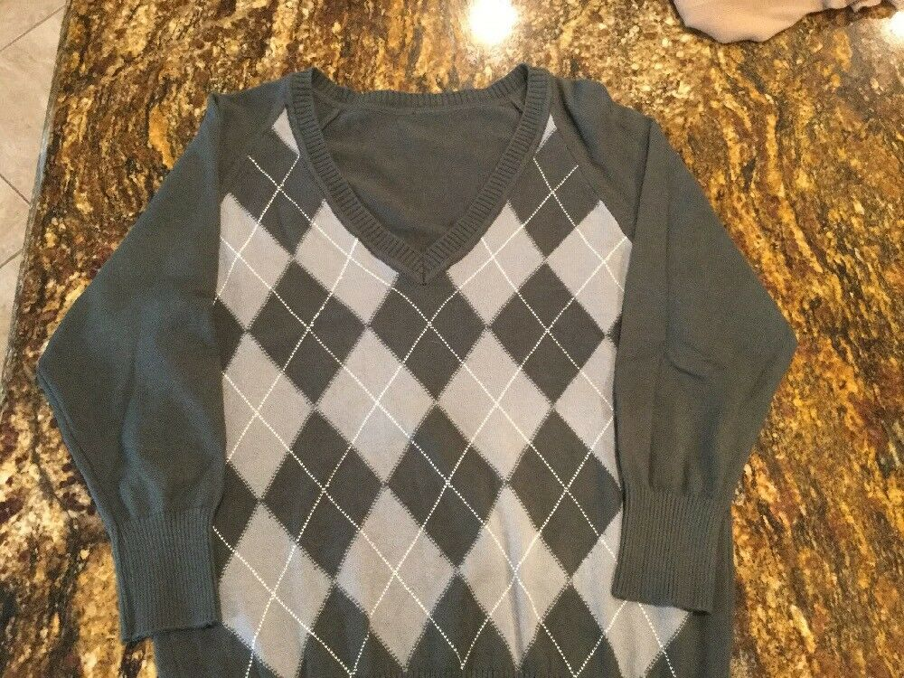 CASHMERE LADIES SWEATER Größe L (NEW W O TAGS MADE IN SilberINA