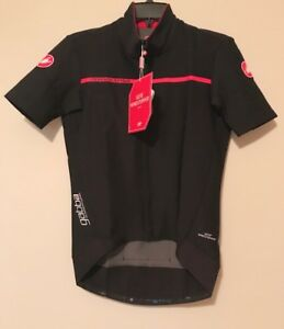 Men-039-s-Castelli-Gabba-2-Short-Sleeve-Jacket-Black-Sz-M-NWT