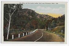 Vintage Postcard near Woronoco MA Mt. Tekoa and Jacob's Ladder Trail