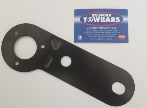 Solo toma de Metal Negro Electrics towball montaje brida de soporte de la placa 7 13