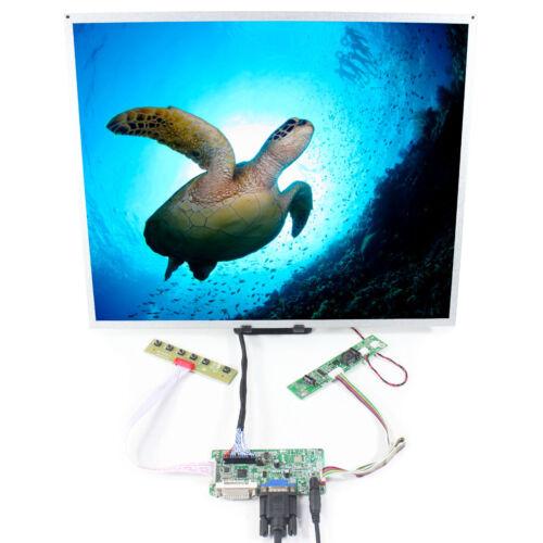 DVI VGA LCD Controller Board 19 in G190ETN01.0  1280x1024 LCD Screen