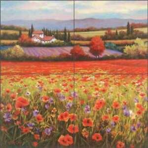 Tuscan-Tile-Backsplash-T-C-Chiu-Landscape-Art-Ceramic-Mural-EC-TC002