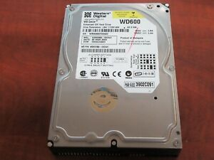 "Western Digital WD Caviar 60GB 3.5/"" IDE Desktop PC Hard Drive WD600 *Tested*"