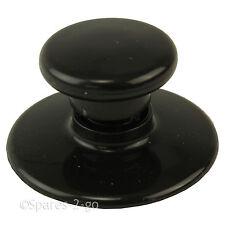 MORPHY RICHARDS Slow Cooker Glass Lid Knob Black 48710 48701 48713 48715 48705