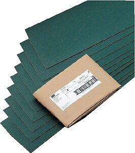 New Green Corps Hookit Regalite Fairing Board Sheets 3m Marine 2639 Grade 60E 4