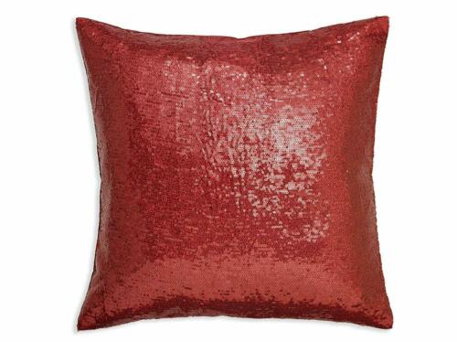 Photo Personalised Cushion Plain or Sequin Reveal 40x40cm Filler Own Design