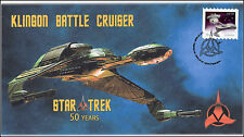 2016, Canada FDC, Star Trek, Klinon Battle Cruiser, 16-019