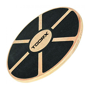 Toorx Balance Board Tavola Propriocettiva Pilates In Legno Cm40 Gommata