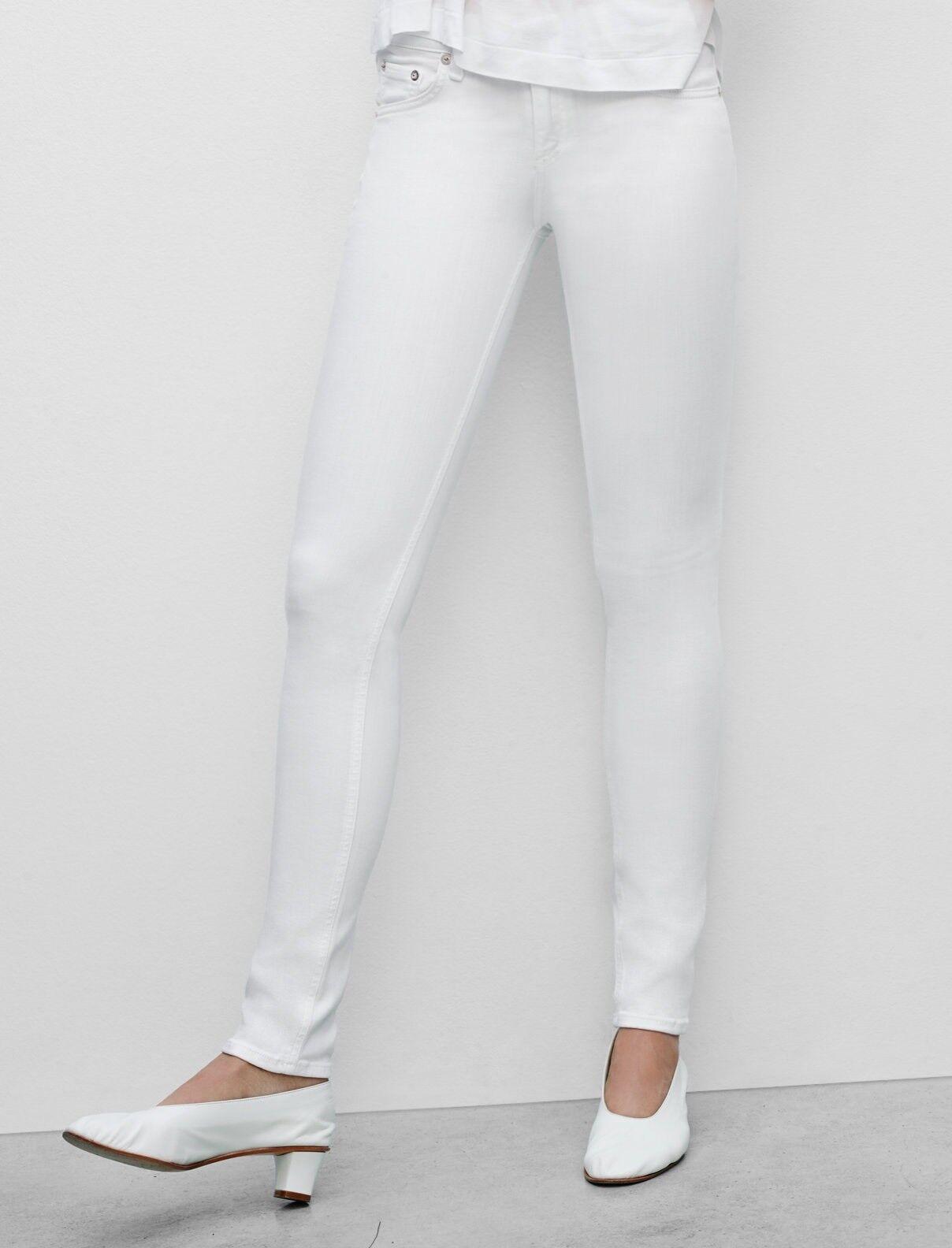 NWT  Rag & Bone  JEAN Skinny Legging in White