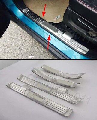 Steel door sill Protector Bumper Cover Trim for 2014-2020 Porsche Macan 4PCS