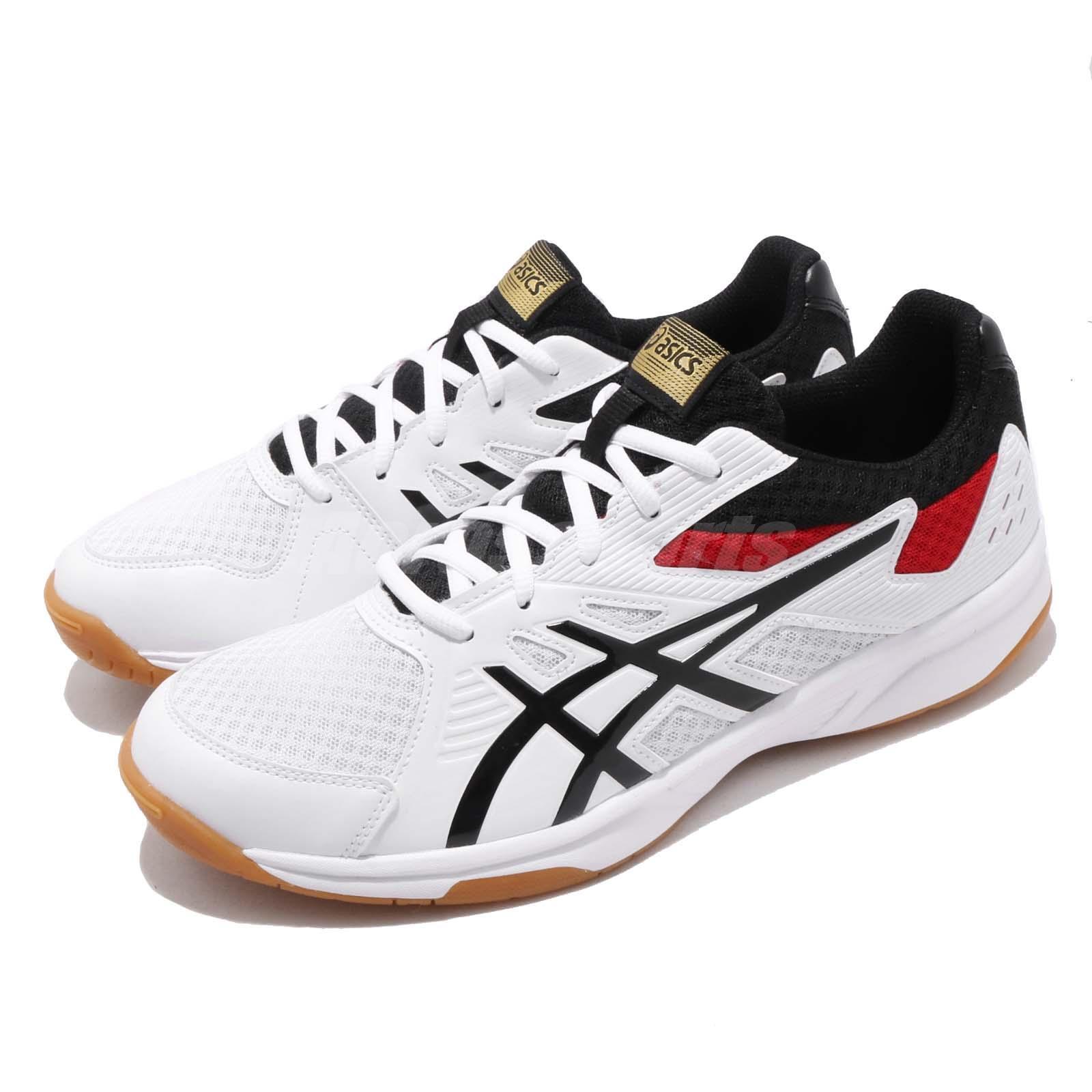 Asics Upcourt 3 blancoo negro Gum Men Volleyball Badminton zapatos 1071A019-110
