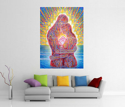 Art Posters Poster Alex Grey Ocean of Love Bliss Art