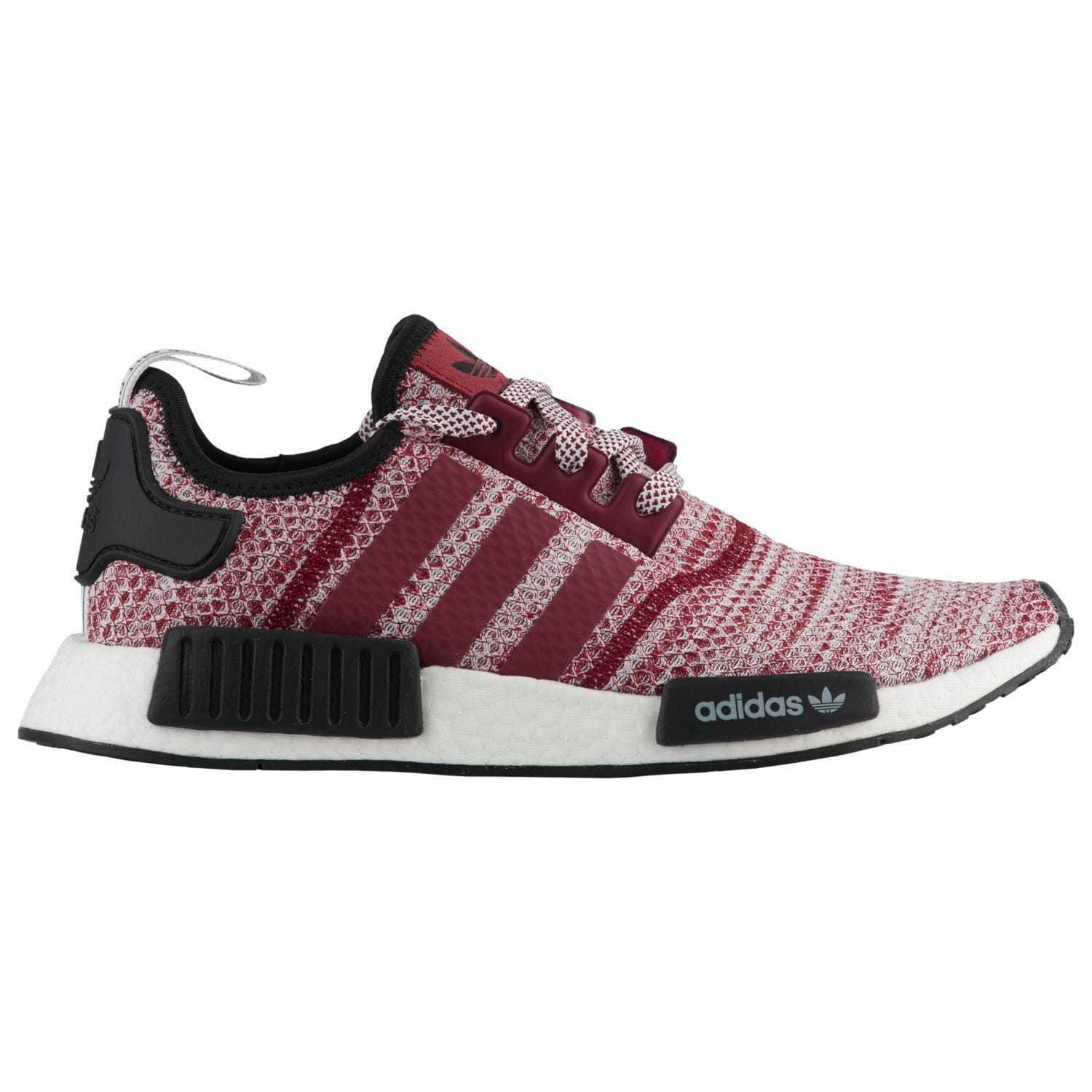 Adidas NMD_R1 Runner Nomad Burgundy Reflective Red White