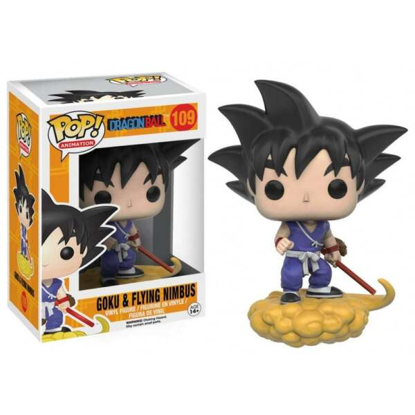 Funko Pop! Animation-dragonball Z #109 Goku & Flying Nimbus