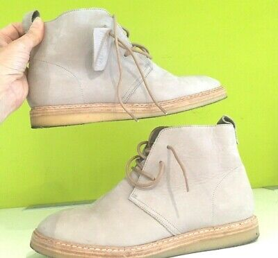 UK 5 Clarks Ladies Empress Moon Stone Soft Nubuck Leather Ankle Boots 6