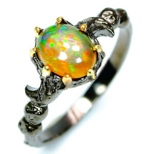 Natural-Opal-925-Sterling-Silver-Ring-RVS276